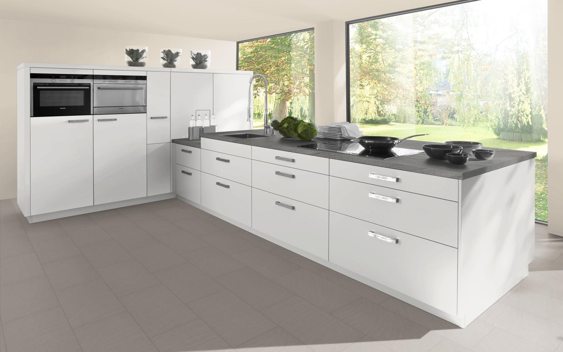 High Gloss Kitchen Door in White