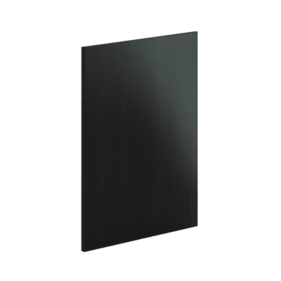 Decor End Panel - Short Wall Cabinet-Black