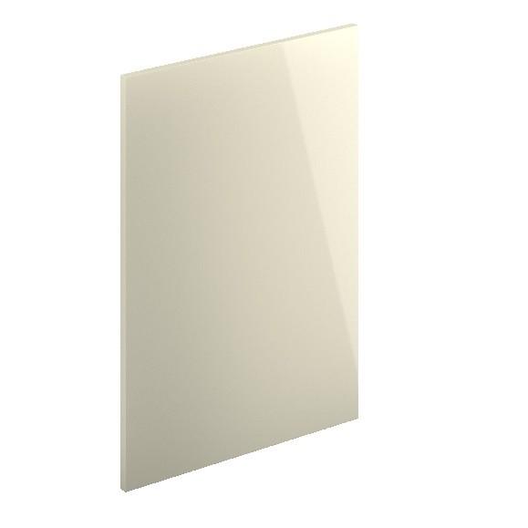 Decor End Panel - Top Box 360mm High-Cream Hi Gloss