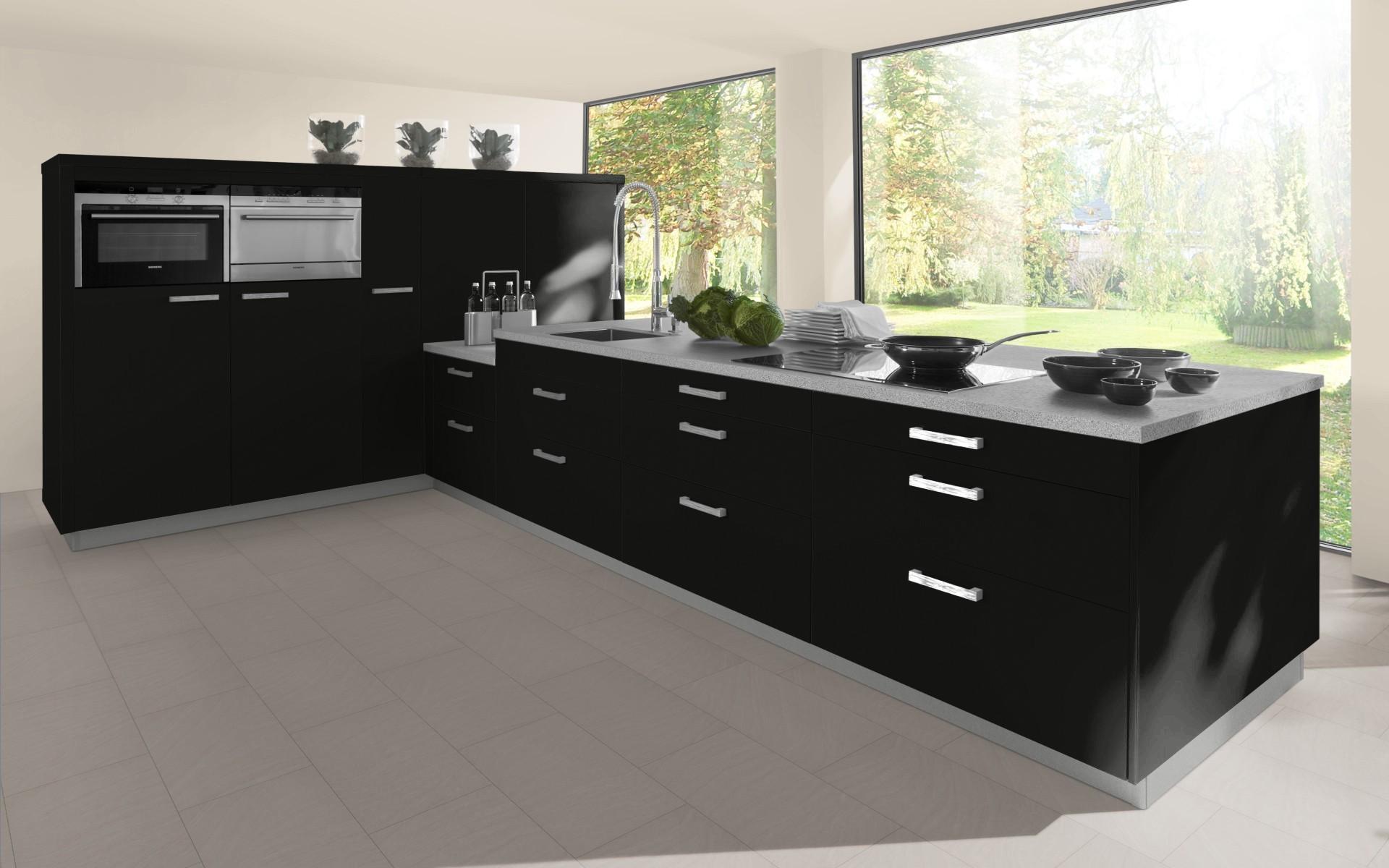 Classic Kitchen Door in Black