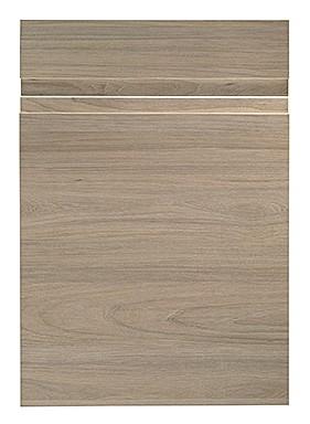 Mirage Kitchen Door in Elm Woodgrain Effect
