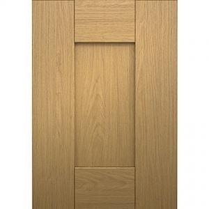 Shaker Kitchen Door in Oak